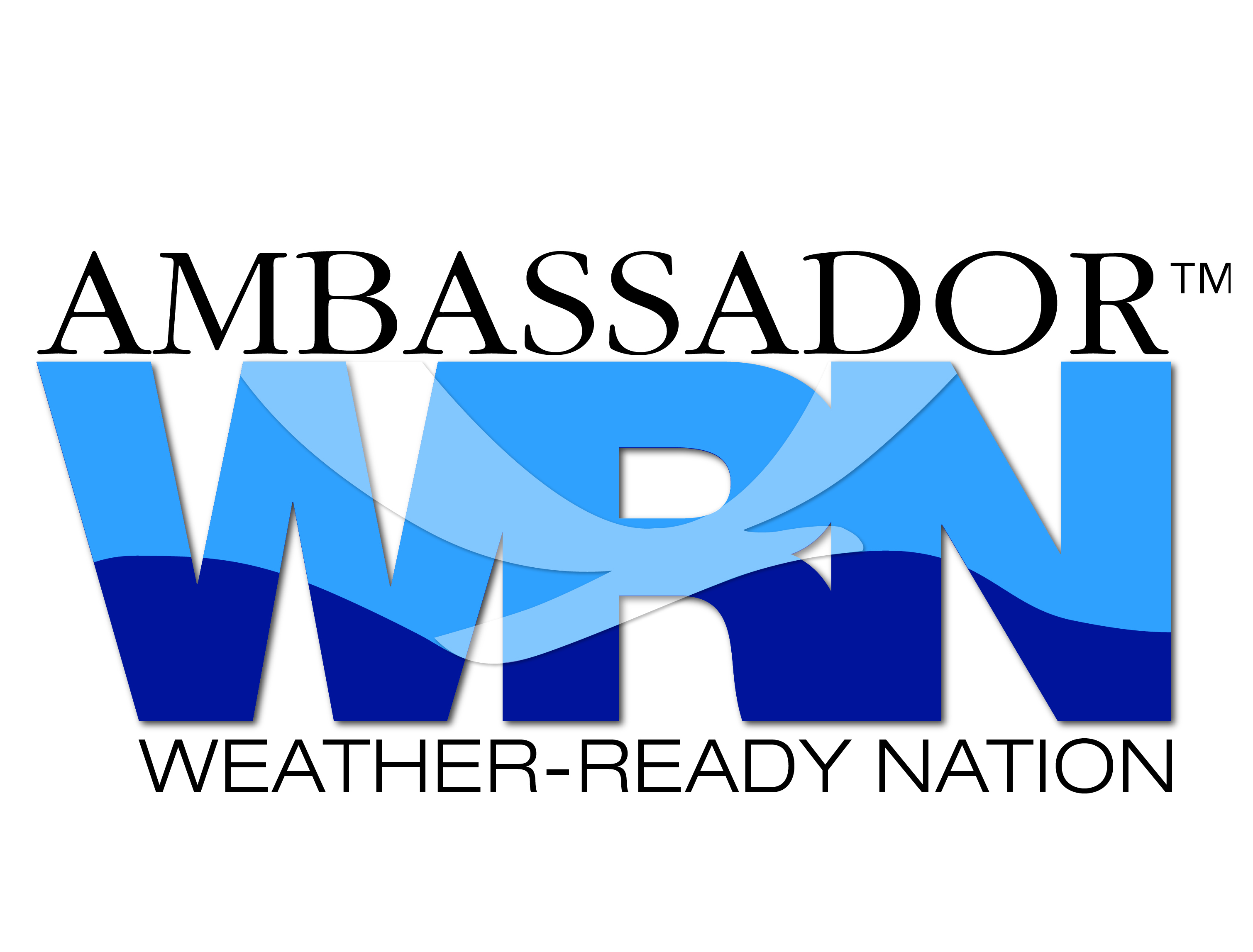 Ambassador Weather-Ready Nation Logo